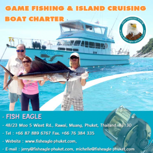 fish eagle game fishing island cruising phuket